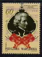 MACEDONIA 2006 Mozart Birth Anniversary  MNH / **..  Michel  387 - Macedonia