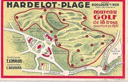 HARDELOT ( 62 ) - Nouveau GOLF De 18 Trous , Ouverture En 1931 - Other Municipalities