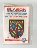 Bourgogne Blason Écusson  Tissu  THERMOCOLLANT TEXTILE CUIR - Ecussons Tissu