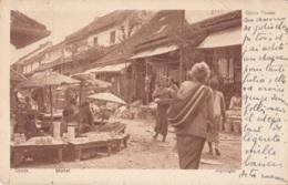 Djocja Market Circulée En 1923 (Batavia) - Inde