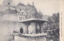 Jagat Sheremani Temple Amber Jaipur Circulée En 1923 - Inde