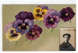A.HALLER 1912  Viooltjes  G.O.M. 1408 - Haller, A.