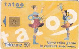 TELECARTE 50 UNITES - TATOO - Telecom Operators