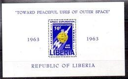 Hoja Bloque De Liberia N ºYvert 27 ** ASTROFILATELIA (ASTROPHILOTELIA) - Liberia
