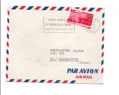 SENEGAL LETTRE AVION POUR LA FRANCE 1968 - Senegal (1960-...)
