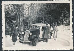 Citroen Rosalie Photo Coupe - Automobile