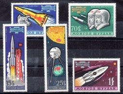 Serie De Mongolia N ºYvert 714/19 ** ASTROFILATELIA (ASTROPHILOTELIA) - Mongolia