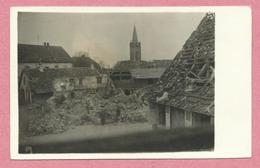 68 - HARTMANNSWEILER - HARTMANNSWILLER  - Carte Photo - Vue Du Village - Guerre 14/18 - France