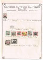 Etats Malaisiens. Malay States. Ancienne Collection. Old Collection. Altsammlung. Oude Verzamelihg - Sammlungen (ohne Album)