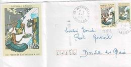 TP N° 2958  Seul Sur  Entier Postal De Ce Même Timbre Pour Poste Restante - 1961-....