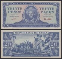 Cuba 20 1964 Pesos Billete Banknote Sin Circular - Bankbiljetten