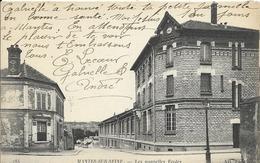 Cpa Mantes Sur Seine, Les Nouvelles écoles - Mantes La Jolie