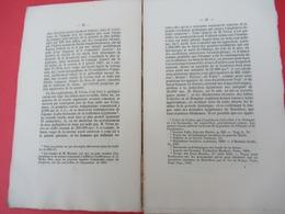 """Livret/Paléontologie-Archéologie/ """"L'Ancienneté De L'Homme """" /Marquis De  NADAILLAC/ Aubry/Paris-Vendômel/1869  MDP170 - Ciencia"""