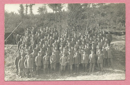 68 - HARTMANNSWEILERKOPF - VIEIL ARMAND - Carte Photo - SILBERBACH STOLLEN - Soldats Allemands - Guerre 14/18 - Frankrijk