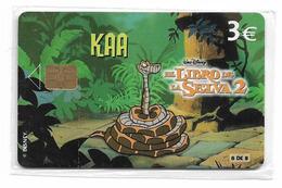 Spain - Telefónica - Disney El Libro De La Selva 2 - Kaa - P-540, 09.2003, 4.000ex, NSB - España