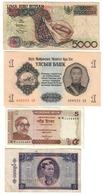 Asia Lot 4 Banknotes *V* - Banconote