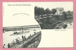 68 - GRUSS Aus EICHWALD - CHALAMPE - Schiffahrt - Gasthaus Zum Bahnhof - Frankrijk