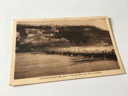 CD - 400 - MARCKOLSHEIM - Pont Du Rhin Avec Limbourg - France
