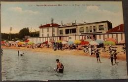 Ak Frankreich - Sainte - Maxime - Sur - Mer  - La Plage - Les Bains Du Casino - Sainte-Maxime