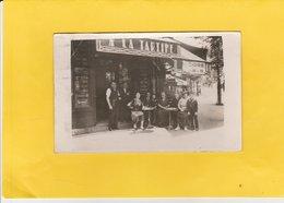 CARTE-PHOTO 75 PARIS XIème MAISON A LA TARTINE LASSIALLE 101 AV.PARMENTIER - Arrondissement: 11
