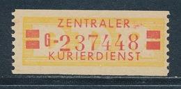 DDR Dienstmarken B 19 II Kennbuchstabe G ORIGINAL ** Geprüft Weigelt Mi. 60,- - Dienstpost