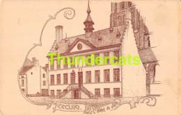 CPA ILLUSTRATEUR ARMAND HEINS ( GENT - GAND ) EEKLO EECLOO L'HOTEL DE VILLE - Eeklo