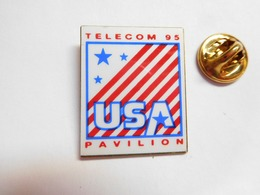 Beau Pin's  , Informatique , Pavilion , HP , Télécom 95 , USA - Informatique