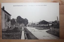 Montferrand - La Poste Et Avenue De La Gare - Francia