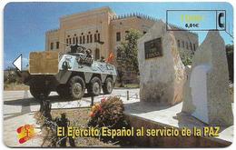 Spain - Telefónica - El Ejercito Espanol En Bosnia - CP-200 - 12.2000, 4.800ex, Used - Espagne