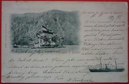 UN SALUTO DA BOCCHE DI CATTARO, LLOYD AUSTRIACO DAMPFER SULTAN - Montenegro