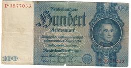 Germany 100 Reichsmark 24/06/1935 *V* - [ 4] 1933-1945: Derde Rijk