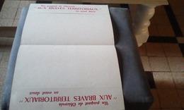 Protege Cahier  Efge Chicoree Aux Braves Territoriaux - Buvards, Protège-cahiers Illustrés