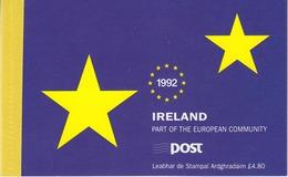 Ireland 1992 European Community Prestige Booklet  ** Mnh (44541) - Europese Gedachte
