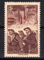 Frankreich  489 Falz - Ungebraucht