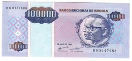 Angola 100000 Kwanzas 1995 UNC *V* - Angola