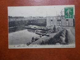 Carte Postale  - St OMER (62) - Le Canal - Societe Des Francs Tireurs (3484) - Saint Omer