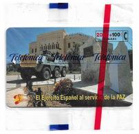 Spain - Telefónica - El Ejercito Espanol En Bosnia - CP-207 - 04.2001, 2.268ex, NSB - Spanje