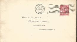 J) 1930 UNITED STATES, MASSACHUSSETTS BAYCOLONY, FDC - Etats-Unis