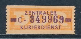 DDR Dienstmarken B 22 Kennbuchstabe C Original** Geprüft Weigelt Mi. 140,- - DDR