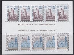 Europa Cept 1977 Monaco M/s ** Mnh (44546) - 1977