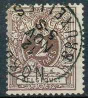 [55380]TB//O/Used-N° 44, TB Obl Centrale 'Nord 3 / Bruxelles' - 1869-1888 Lion Couché
