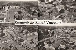 SAUZE-VAUSSAIS. -  SOUVENIR Multivues. CPM Dentelée - Sauze Vaussais