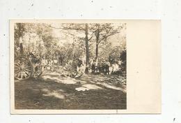 Cp, Carte Photo , Militaria , Guerre 1914-18 ,  Matériel , 2 Scans - Weltkrieg 1914-18