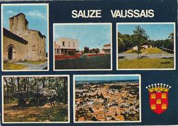 SAUZE-VAUSSAIS. -   Multivues. CPM - Sauze Vaussais
