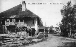 VILLERS-FARLAY (Jura) -  Un Coin Du Village - Edition CLB. Circulée En 1935. Bon état. - Villers Farlay
