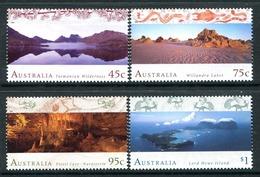Australia 1996 World Heritage - 2nd Issue - Set MNH (SG 1582-1585) - Ungebraucht