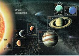 Solar System, 8V MS, 2018 - Inde