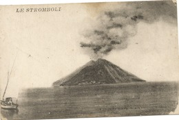 CPA ITALIE Sicile  Le Stromboli - Italy