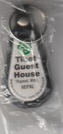 Key Chain, Porte-clés, Llavero - TIBET GUEST HOUSE - NEPAL - Llaveros