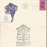 J) 1939 UNITED STATES, 150th ANNIVERSARY OF THE INAUGURATION OF GEORGE WASHINGTON, FDC - Stati Uniti